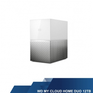 WESTERN DIGITAL EXTERNAL HARD DISK - WD MY CLOUD HOME DUO 12 TB