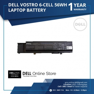 DELL VOSTRO 3400 3500 3700 6 CELL 56WH LAPTOP BATTERY