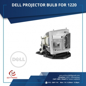 DELL PROJECTOR BULB FOR 1220