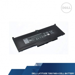 DELL GENUINE LATITUDE 7280/7480 4 CELL LAPTOP BATTERY