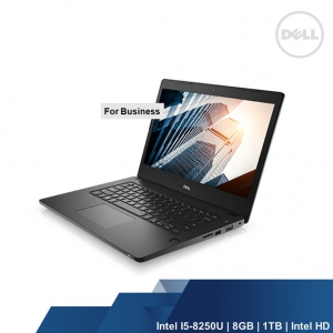 DELL LATITUDE 3490 (INTEL I5-8250U,8GB,1TB,INTEL UHD,WIN10PRO,1YR)